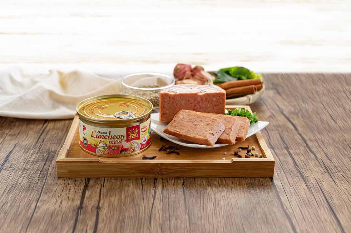 Healthier Choice Premium Chicken Luncheon Meat