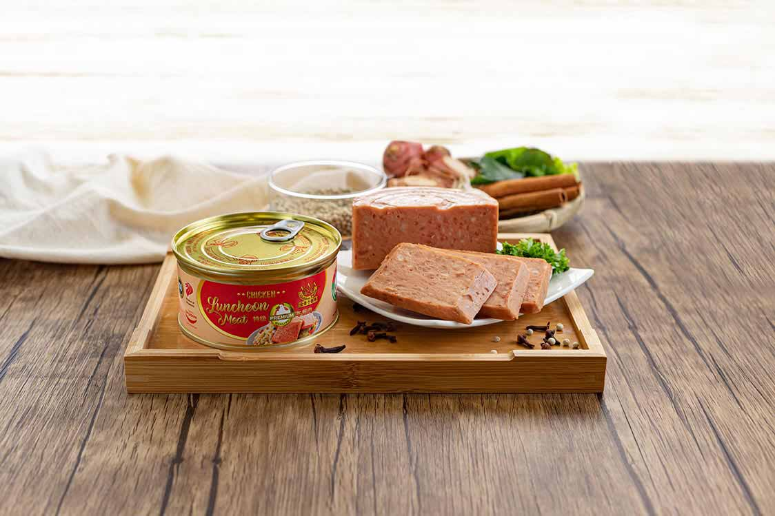 Premium Chicken Luncheon Meat