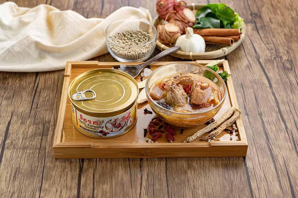 Tonic Kampong Chicken