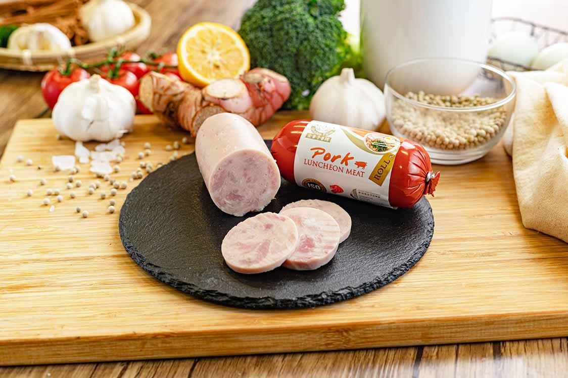 Pork Luncheon Meat Roll